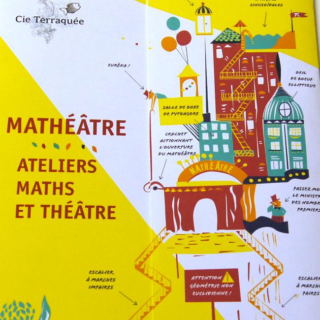 Mathéâtre : ateliers Maths et théâtre