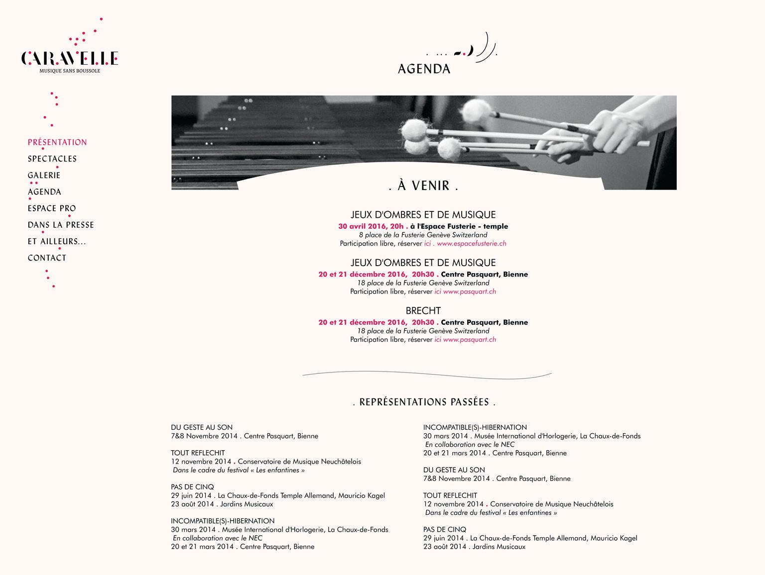 caravelle-agenda