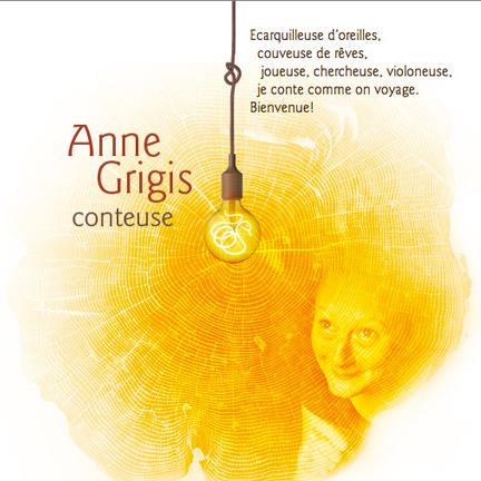 Anne Grigis, conteuse